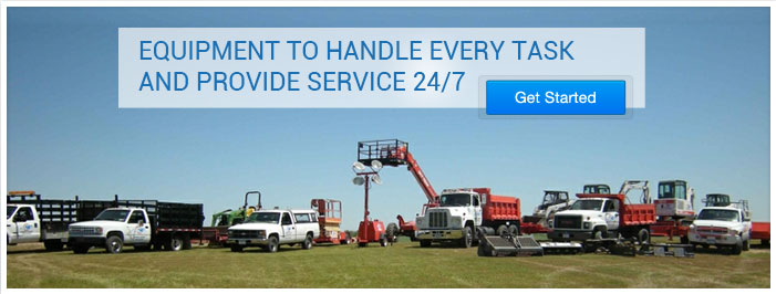 Equipment To Handle Every Task and Provide Service 24/7