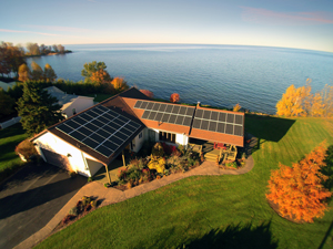 Solar panels installed in Williamson, NY