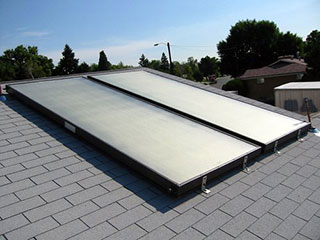 Thermal Solar Panels Installed in New York