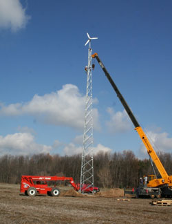 Wind Power Amp Wind Turbine Installation Ithaca Rochester